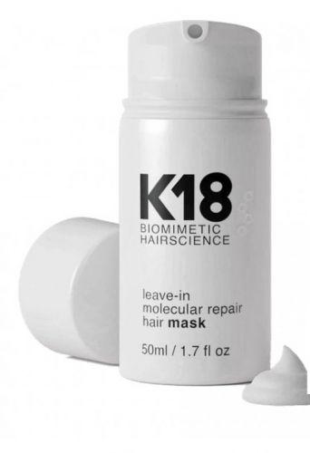 Novinka na trhu - maska opravující vaše vlasy během 4minut - K18 50ml