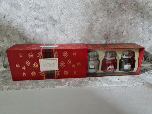 Vánoční sada 3 svíček