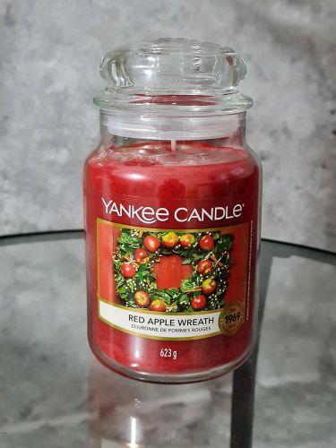 Svíčky vonné kulaté 623 g - Red Apple