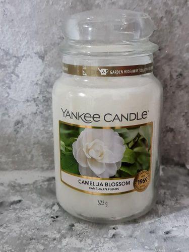 Svíčky vonné kulaté 623 g - Camellia Blossom