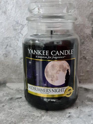 Svíčky vonné kulaté 623 g - M idsummer's Night