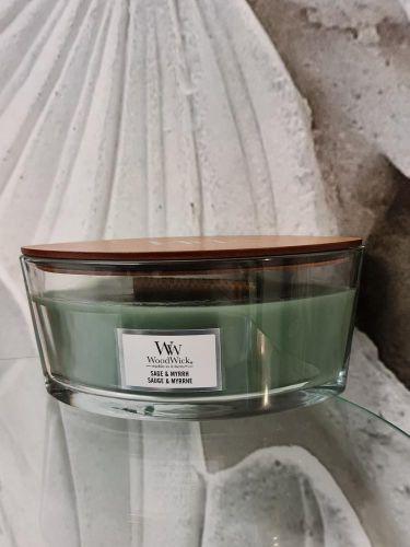 Vonné svíčky s dřevěným knotem Wood Wick